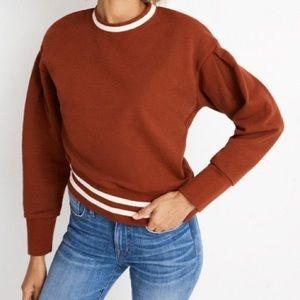 Madewell varsity sweatshirt